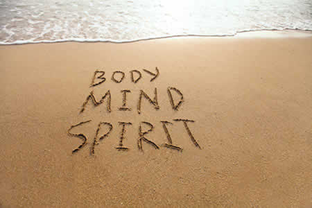 Mind body and spirit image
