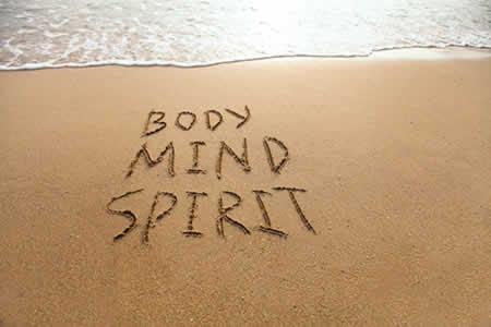 Mind body and spirit image