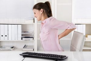 Upper back pain image - treated at Kempston Chiropractic clinic