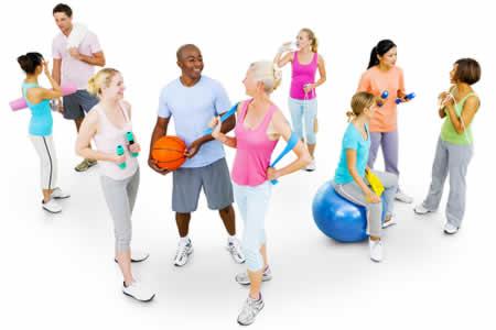 Rehabilitation of fitness individuals